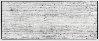 G.T. Pellizzi, 'Snap Lines in Black on White (Cinemascope 2)', 2019