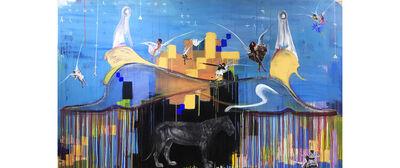 Khaled Hafez, 'Two Gods and Angels', 2017