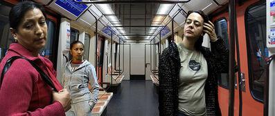 Pablo Zuleta Zahr, 'Madrid Subway Line 6', 2007