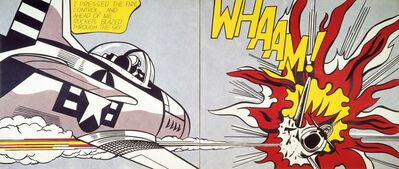 Roy Lichtenstein, 'Whaam!', 1963