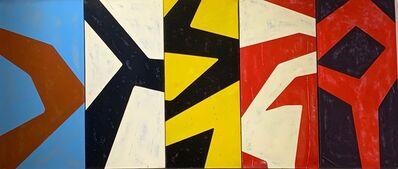"Bradley Narduzzi, '""Geometric Abstractions II""', 2019"