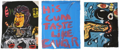Jeffrey Spencer Hargrave, 'Night Warrior Lucky Seven|His Cum Taste Like Caviar |Untitled', 2016