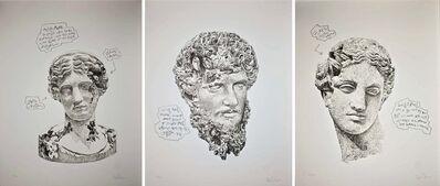 Daniel Arsham, 'Eroded Classical Print', 2020