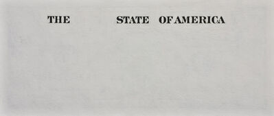 Tom Molloy, 'State of America', 2009