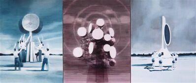 Adam Dix, 'Silent Servitude (triptych) ', 2011
