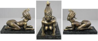 "Ernst Fuchs, '""Wiener Sphinx""', 2013"