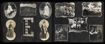 Sara G. Hooffstetter, 'Untitled [Shaped Photograph Family Album]', 1908-1916