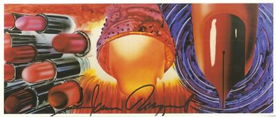James Rosenquist, 'Fahrenheit 1982 (Hand Signed), from the Estate of UACC President Cordelia Platt', 1982