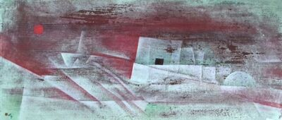 Vaseem Mohammed, 'The (Life) Boat & The Storm (Refuge)', 2016