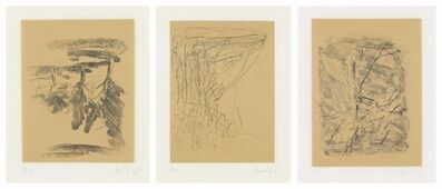 Georg Baselitz, 'Eighteen Plates, from: Bäume', 1974