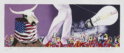 James Rosenquist, 'The Xenophobic Movie Director on Our Foreign Policy', 2011