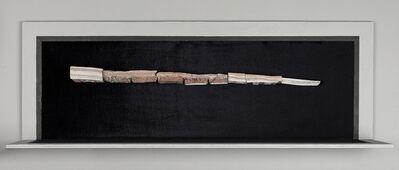 Bernardo Montoya, 'Objeto no identificado [ posible cuerno de unicornio, espada de L E u artefacto ritual]. Instituto Arte y Maravillas', 2018