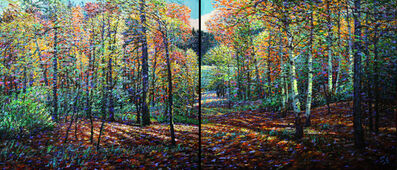 Shi Le, 'Fall Coming A-B (Diptych)'