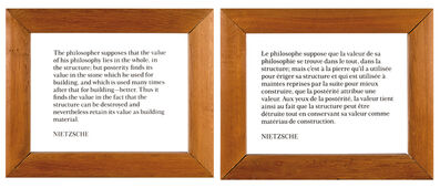 Joseph Kosuth, 'Ex-Libris', 1991