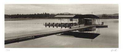 Kerik Kouklis, 'Pond & Boats, Castle Rock, WA', 2000