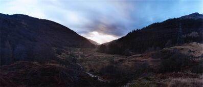 Chrystel Lebas, 'Re-visiting Loch Long from Glen Loin. Plate n°1255, Arrochar, December 2013. 56°13.544' N 4°43.720' W', 2016
