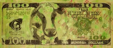 "Stephen Green, '""Cash Cow"" aka: ""Devaluation of the Dollar""', 2011"
