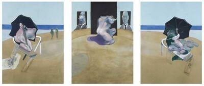 Francis Bacon, 'Metropolitan Triptych', 1974-1977
