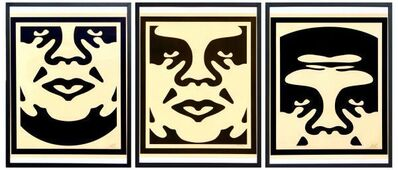 Shepard Fairey, 'Obey giant faces', 2017