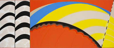 Janet Dawson, 'Over The Rainbow', 1968