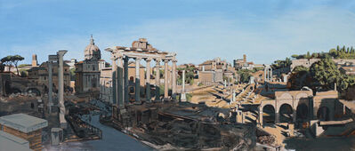 David Wheeler, 'Study: The Forum Rome (late afternoon)'