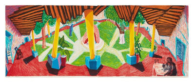 David Hockney, 'Hotel Acatlán: Two Weeks Later, from Moving Focus Series', 1985