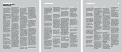 Ludovic Chemarin©, 'Total Recall, 47 440 signes (espaces compris)', 2018
