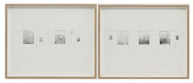 Jacob Kassay, 'Untitled Diptych'