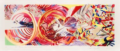James Rosenquist, 'The Stowaway Peers out at the Speed of Light', 2001