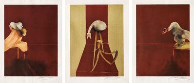 Francis Bacon, 'Deuxième version du triptyque, 1944, (after, Second Version of the Triptych 1944)', 1989