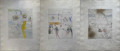 Salvador Dalí, 'Hippies (Complete Portfolio)', 1969-70