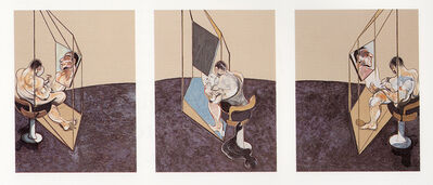 Francis Bacon, 'Three Studies of the Male Back 1970', 1987
