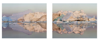 Olaf Otto Becker, 'Ilulissat 13, Diptych, 07/2015', 2015