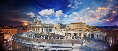 Stephen Wilkes, 'Easter Mass, Vatican, Rome, Day to Night', 2016
