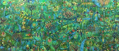 Jorge Vidals, 'Liberación de luciérnagas - Releasing of fireflies', 2018