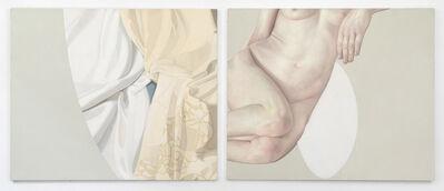 Alison Watt, 'Mme Riviere - Fragment V', 1997