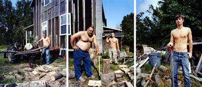 David Hilliard, 'Cut, Load, Haul, Pile', 2009