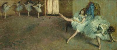 Edgar Degas, 'Before the Ballet', 1890/1892