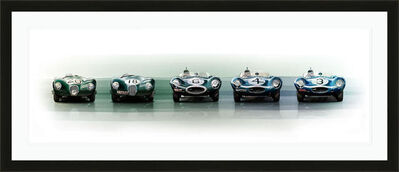 Frederic Dams, 'Jaguar Le Mans Domination C-type D-type | Automotive | Car', 2018