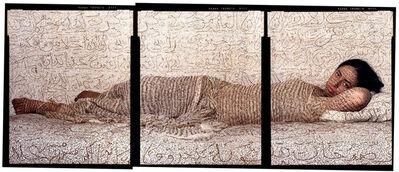 Lalla Essaydi, ' Les Femmes du Maroc-Reclining Odalisque', 2008