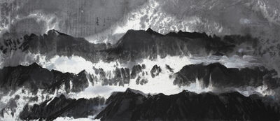 Wang Gongyi, 'Mountains', 2019