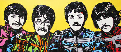 Mr. Brainwash, 'The Beatles', 2011