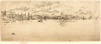 James Abbott McNeill Whistler, 'Long Venice', 1879/1880