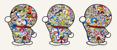 Takashi Murakami, 'Takashi Murakami x Doraemon: 3 Prints with Matching Numbers', 2019