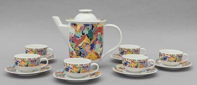Alighiero Boetti, 'A coffee set for ALESSI TENDENTSE', around 1992