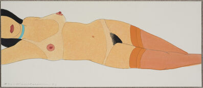 Tom Wesselmann, 'Reclining Nude (Variable Edition 1997)', 1997