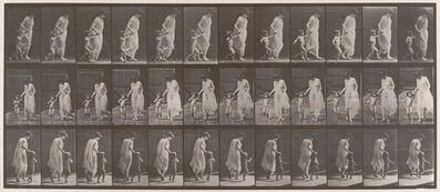 Eadweard Muybridge, 'Mother and Child from Animal Locomotion', 1887