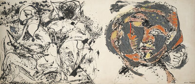 Jackson Pollock, 'Portrait and a Dream', 1953