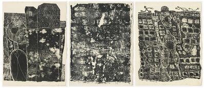 Jean Dubuffet, 'Les Murs - 12 Poèmes de Guillevic', 1945