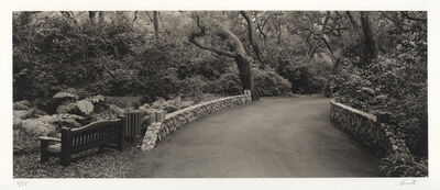 Kerik Kouklis, 'Path & Bench, Descanso Gardens, Los Angeles, CA', 1996